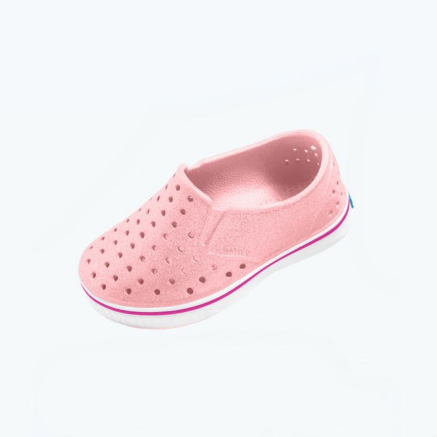 Native - Miles Lantern Bling / Shell White Kids Shoes footwear Native