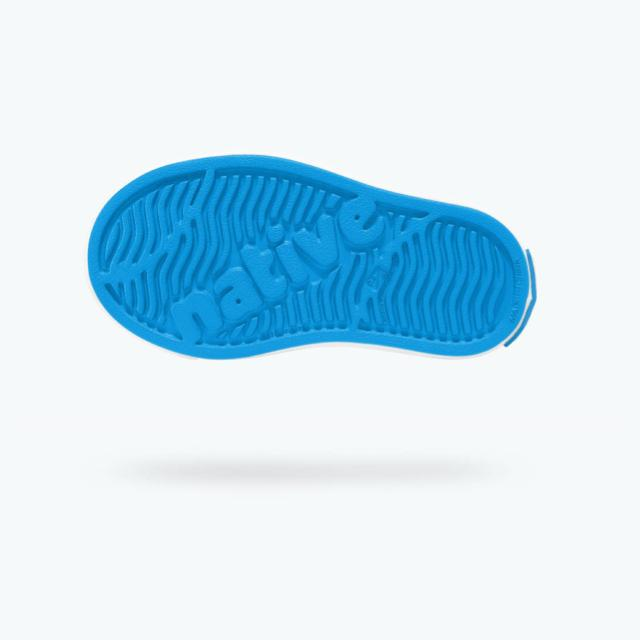 Native - Miles Wave Blue / Shell White Kids Shoes footwear Native