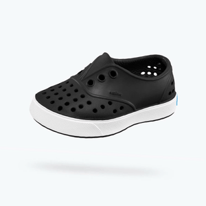 Native - Miller Jiffy Black / Shell White Kids Shoes footwear Native