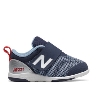 New Balance - IO223NVR Navy Boy's Running Shoes (Toddler 2 - Kids 10) Footwear New Balance Toddler 2
