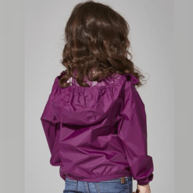 O8 - Grape Kids Packable Jacket Outerwear O8
