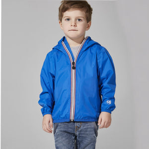 O8 - Royal Blue Kids Packable Jacket Outerwear O8