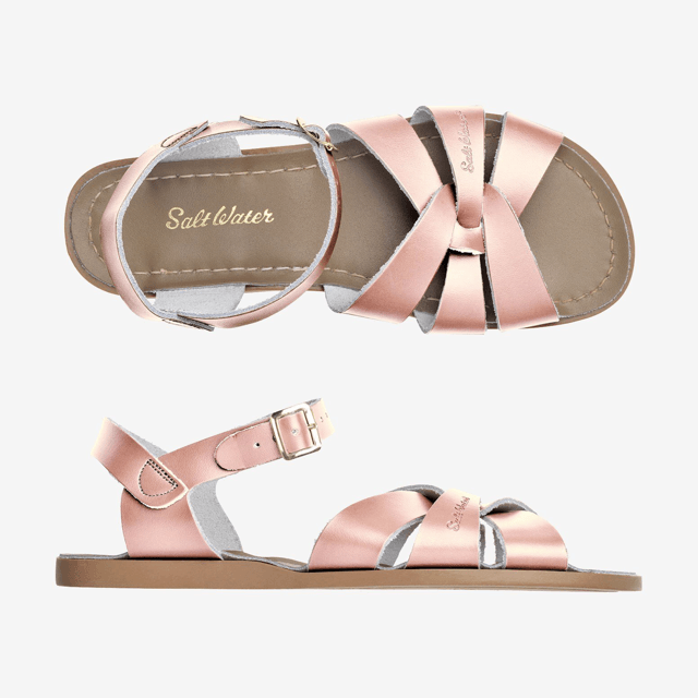 Original Salt Water Sandals - Rose Gold Sandals Salt Water Sandals