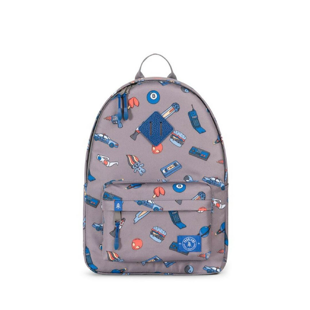 Parkland Bayside Backpack - Patches Retro Backpack Parkland