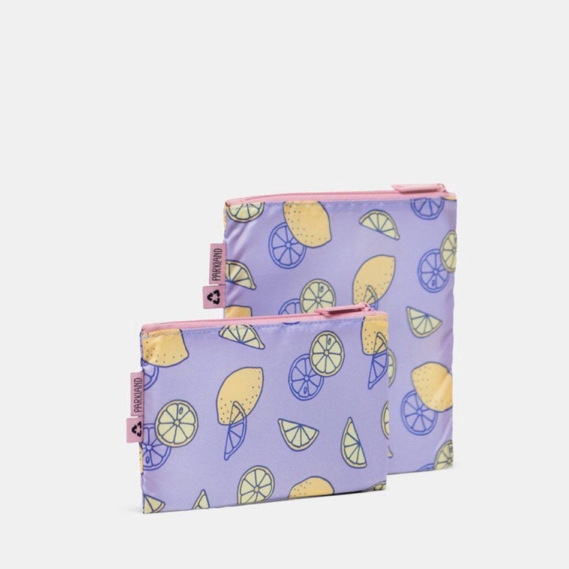 Parkland - Kids Snack Bag Duo - Lemon Lunch Box Parkland