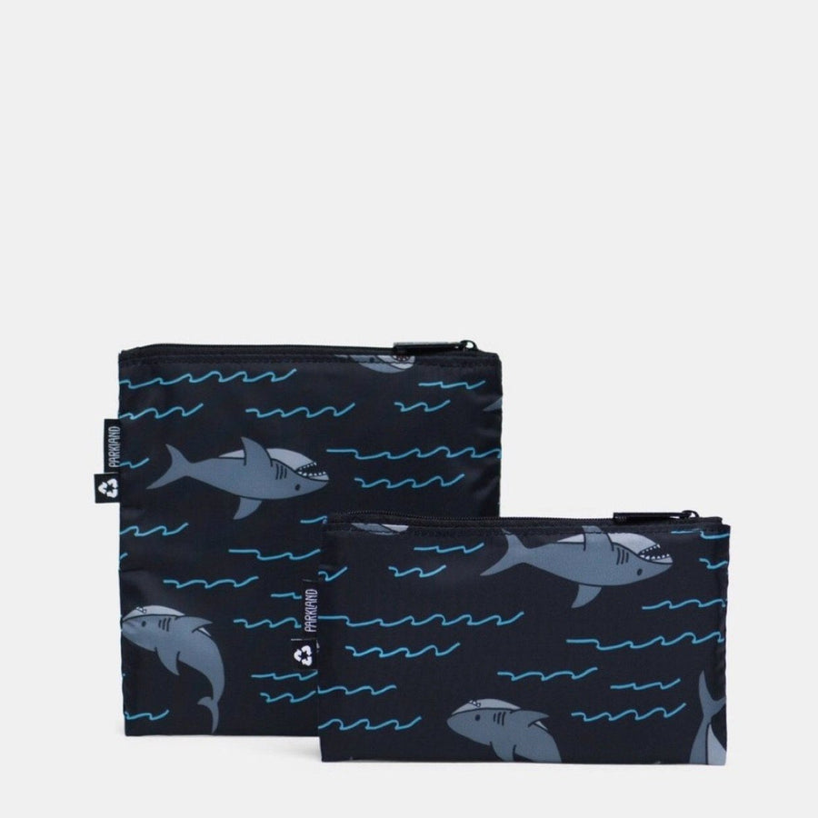 Parkland - Kids Snack Bag Duo - Shark Lunch Box Parkland
