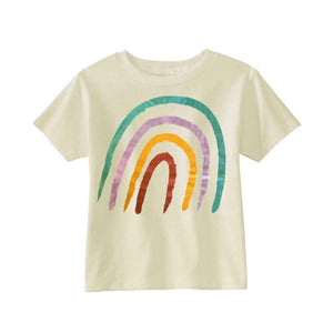 Pastel Rainbow Nyla T-shirt Short Sleeve Shirts Tiny Trendsetter