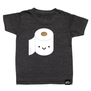 PRE-SALE Whistle & Flute - Adult Kawaii Toilet Paper T-Shirt Short Sleeve Shirts Whistle & Flute