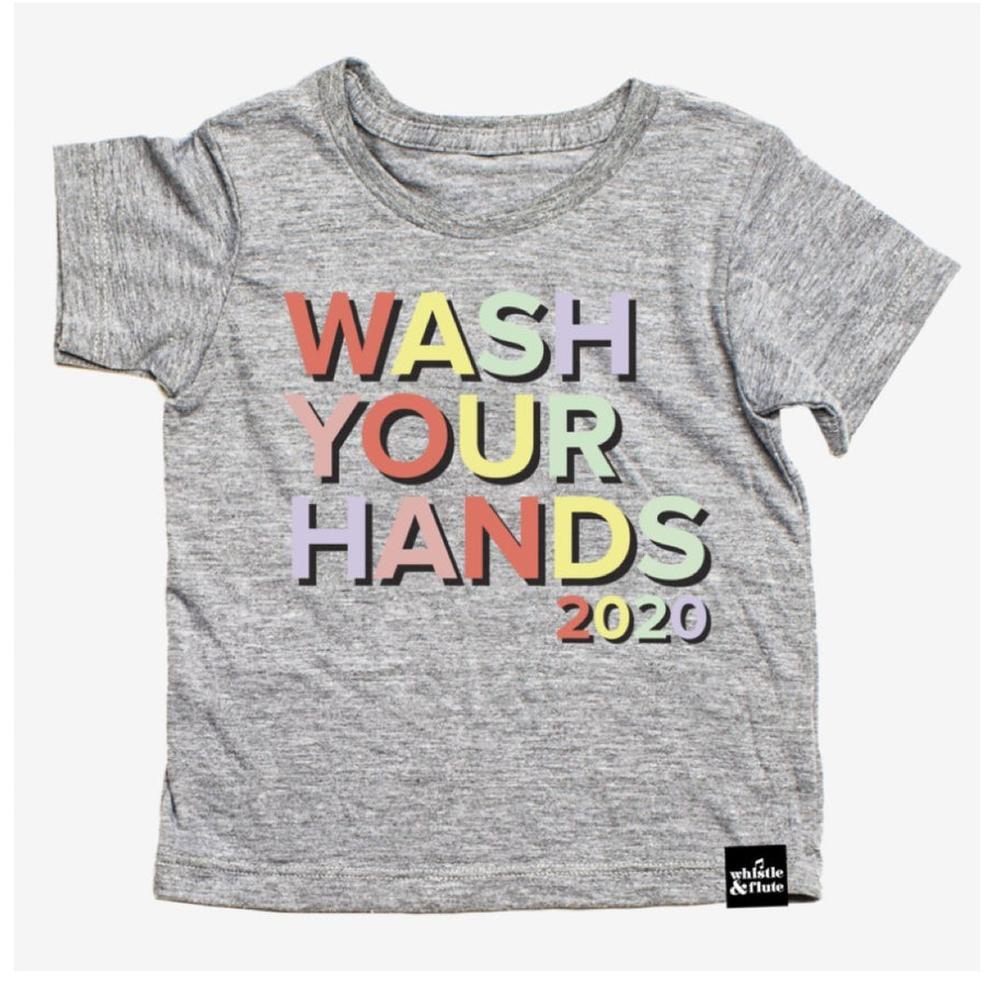 PRE-SALE Whistle & Flute - Adult Wash Your Hands 2020 T-Shirt Short Sleeve Shirts Whistle & Flute