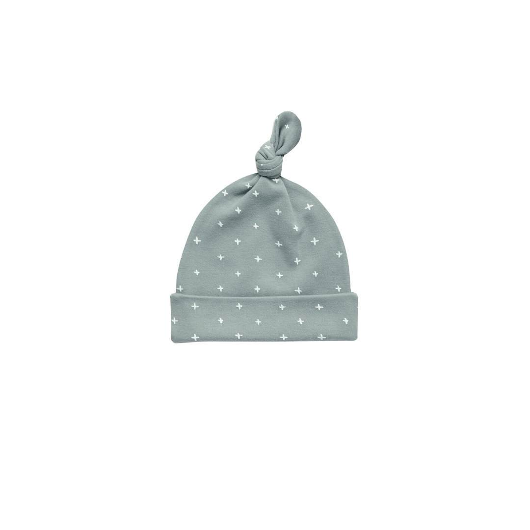 QM004BB - Quincy Mae Ocean Knotted Baby Hat hat Quincy Mae