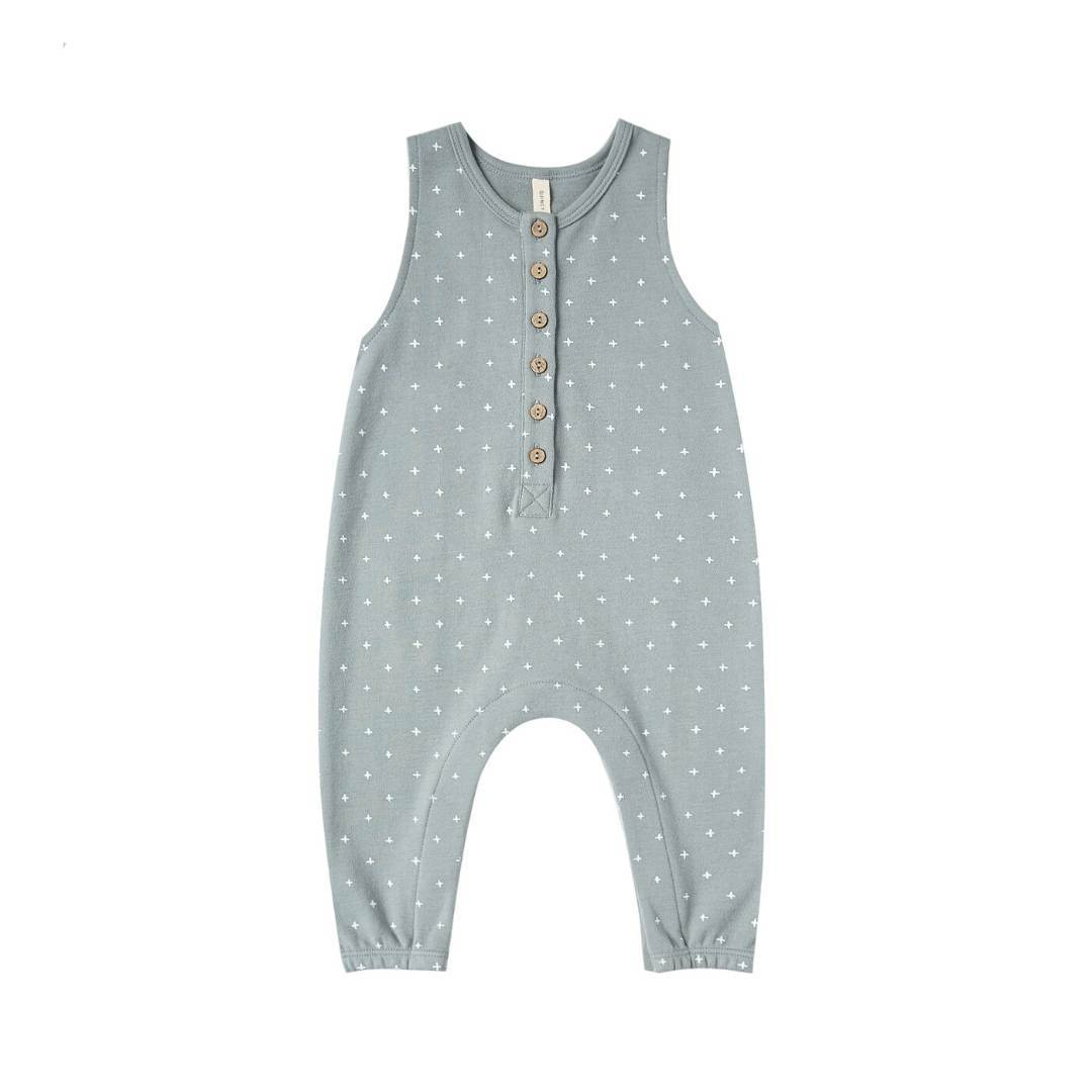 QM158B - Quincy Mae Ocean Sleeveless Jumpsuit Jumpsuits / Rompers Quincy Mae
