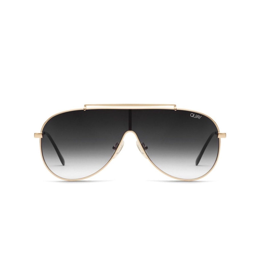 Quay - El Dinero Sunglasses - Gold / Black Fade Sunglasses Quay