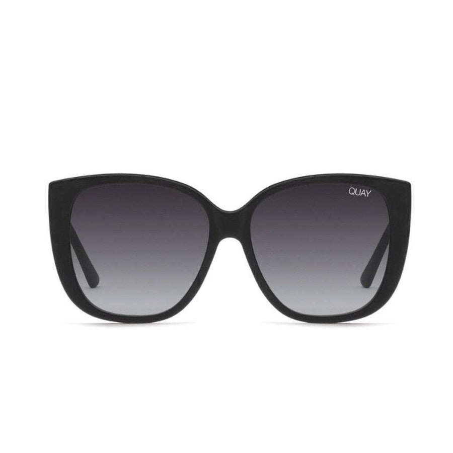 Quay - Ever After Sunglasses - Matte Black / Smoke Fade Sunglasses Quay