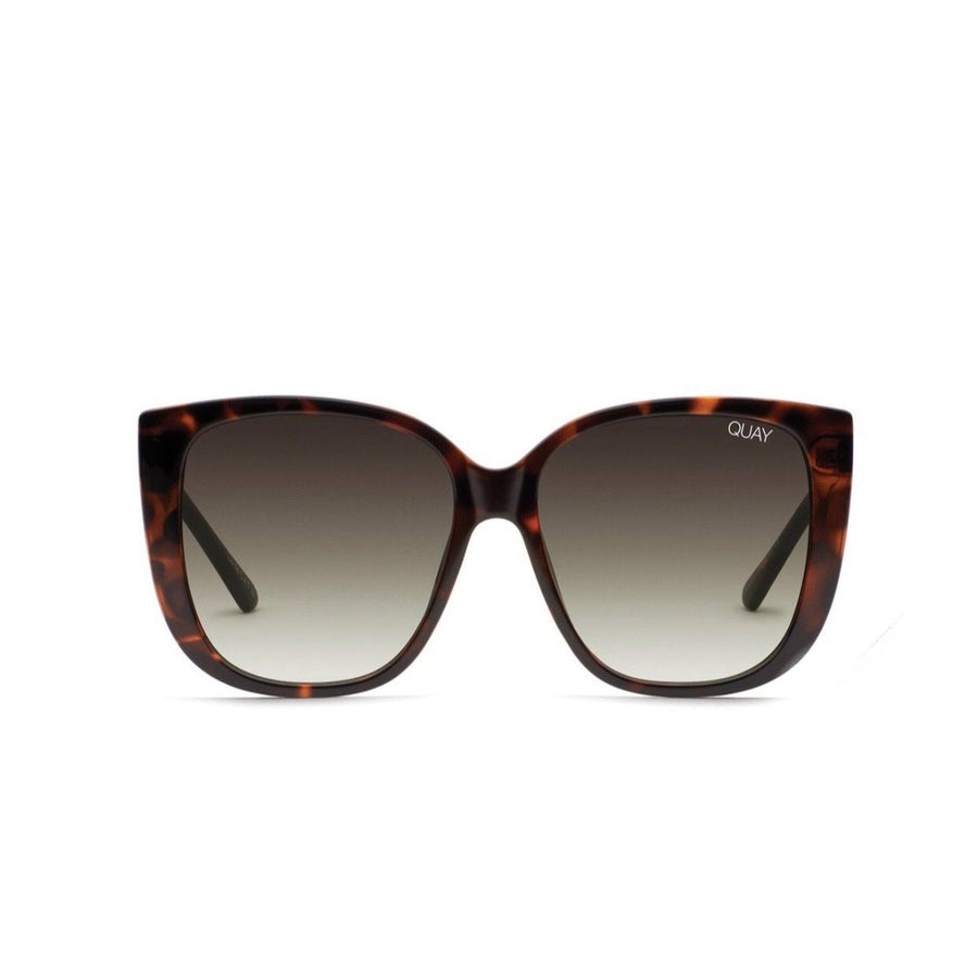 Quay - Ever After Sunglasses - Tortoise / Smoke Taupe Sunglasses Quay