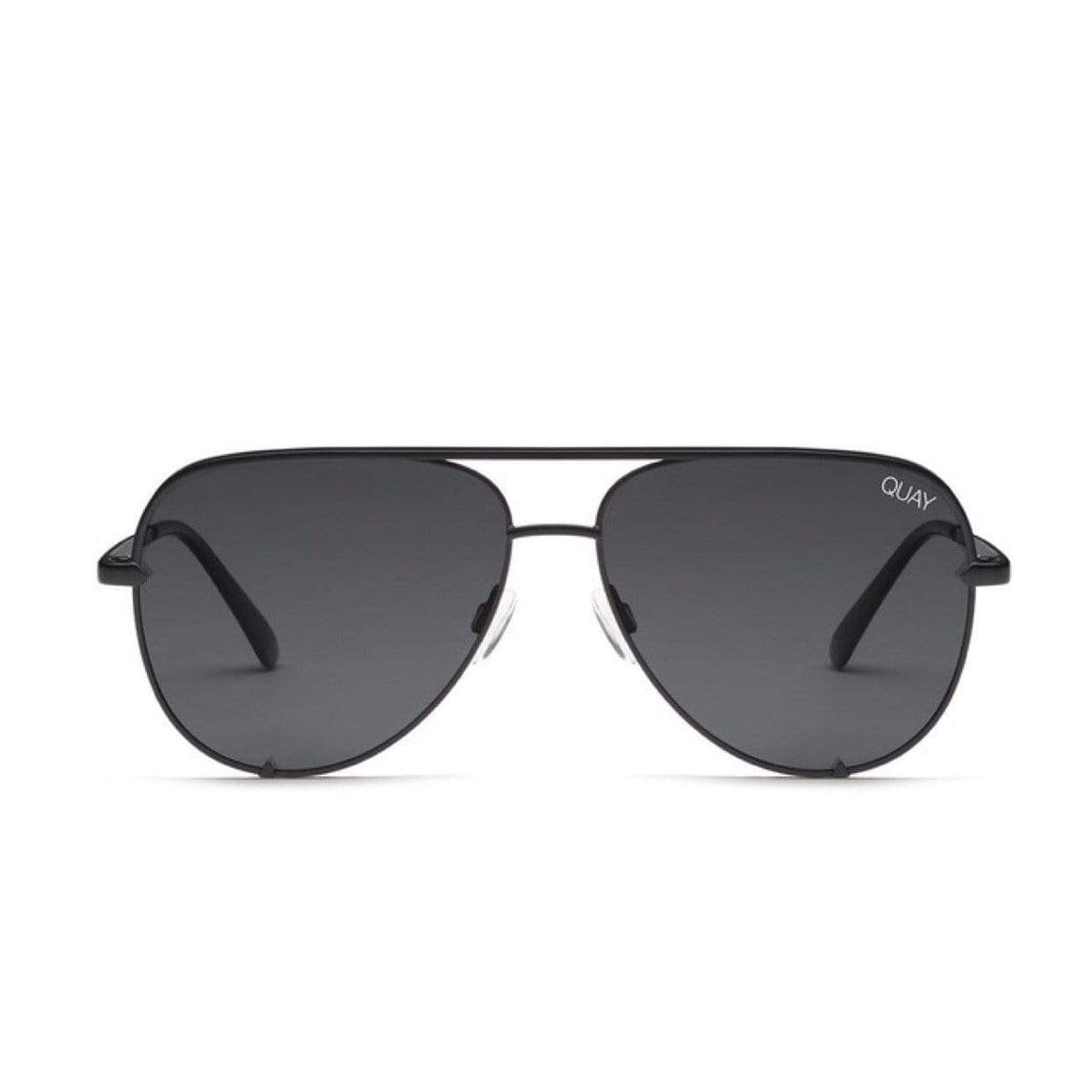 Quay - High Key Sunglasses - Black / Smoke Sunglasses Quay