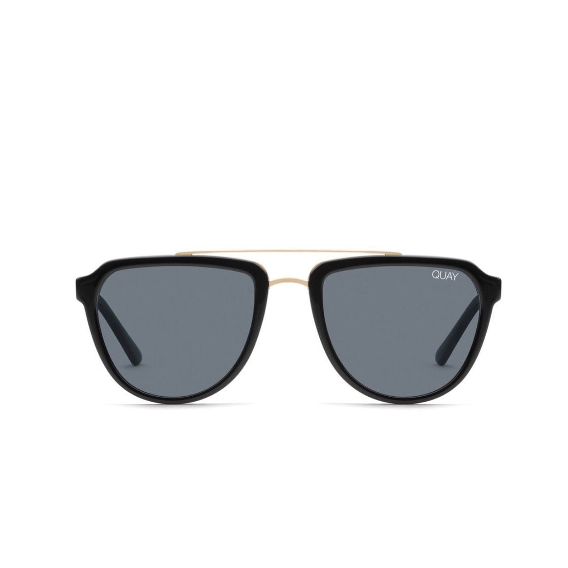 Quay - Mystic Sunglasses - Black / Smoke Sunglasses Quay