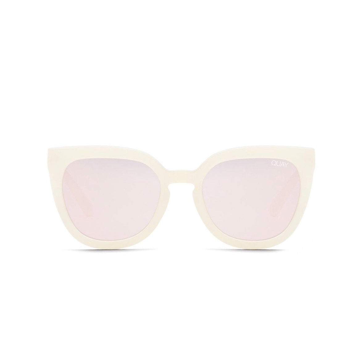 Quay - Noosa Sunglasses - Pearl/Rose Sunglasses Quay