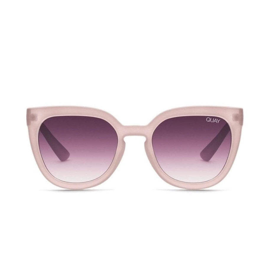 Quay - Noosa Sunglasses - Taupe / Purple Sunglasses Quay