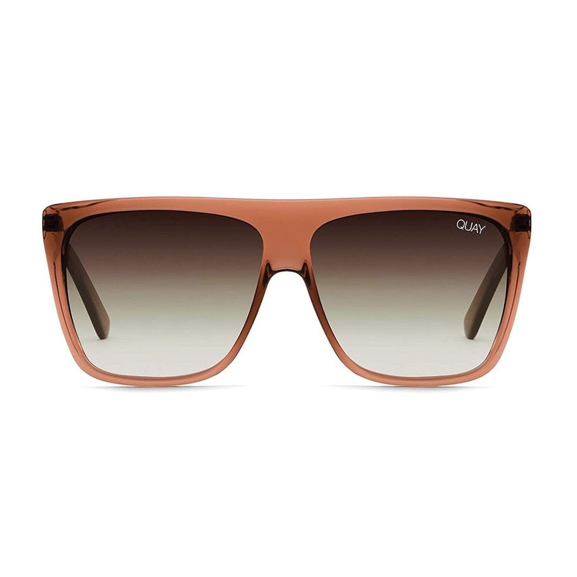Quay - OTL II Adult Sunglasses - Coffee/Brown Fade Sunglasses Quay