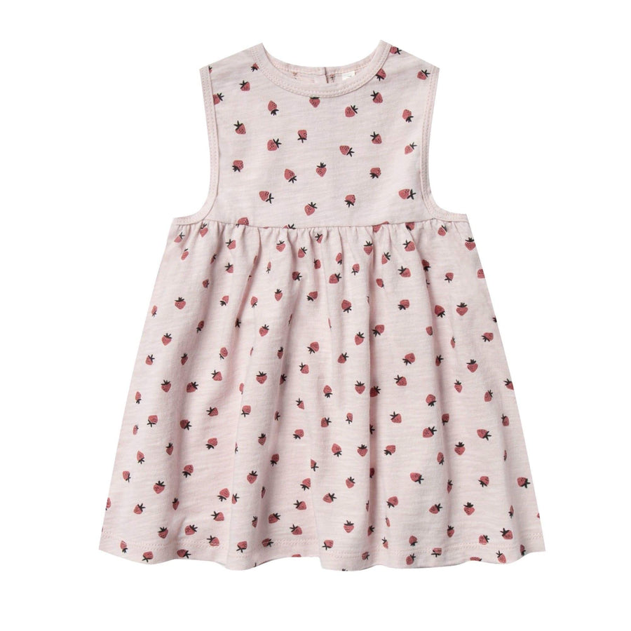 RC003A Rylee & Cru Strawberry Layla Dress - Lilac Dress Rylee & Cru