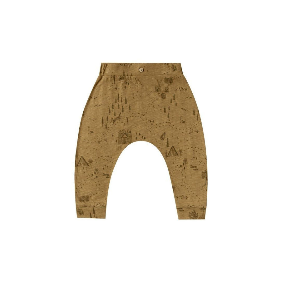 RC004 Rylee & Cru Into The Woods Slouch Pant - Goldenrod Pants Rylee & Cru