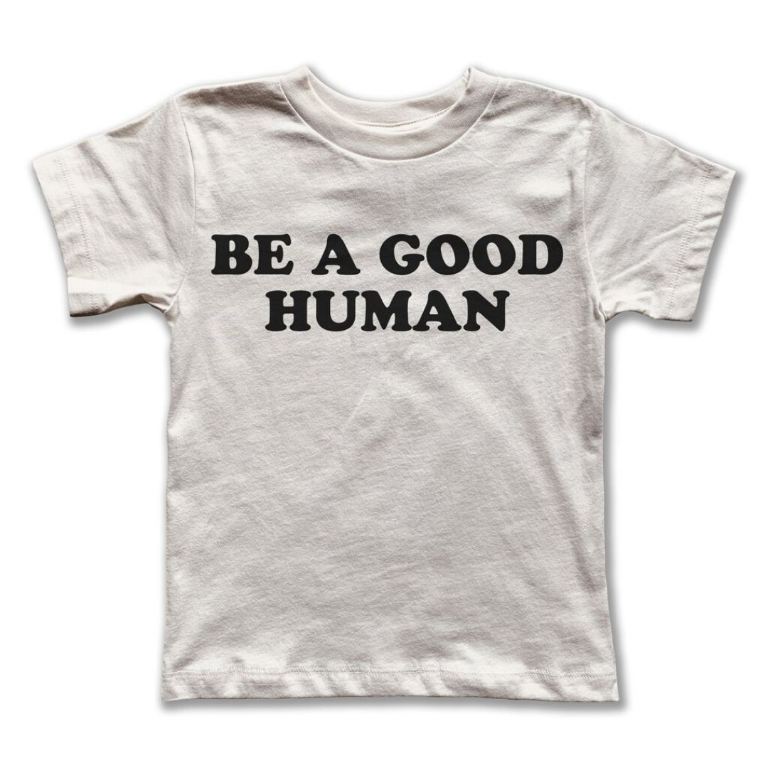 Rivet Apparel Co. - Be a Good Human Unisex T-shirt Short Sleeve Shirts Rivet Apparel Co.