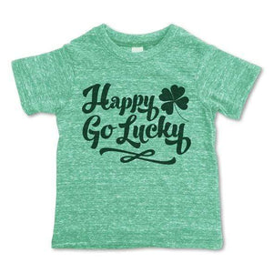 Rivet Apparel Co. - Happy Go Lucky Unisex T-shirt Short Sleeve Shirts Rivet Apparel Co.