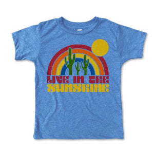 Rivet Apparel Co. - Live In the Sunshine Unisex T-shirt Short Sleeve Shirts Rivet Apparel Co.