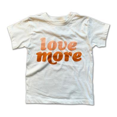 Rivet Apparel Co. - Love More Unisex T-shirt Short Sleeve Shirts Rivet Apparel Co.