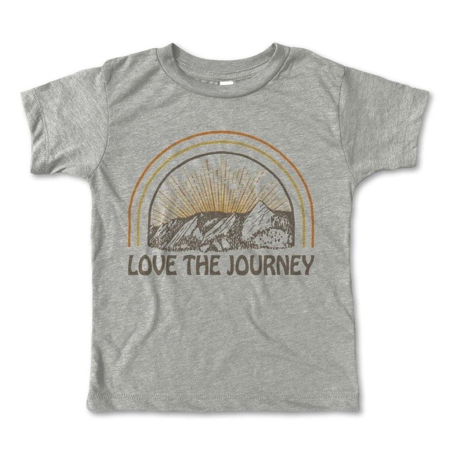 Rivet Apparel Co. - Love The Journey Unisex T-shirt Short Sleeve Shirts Rivet Apparel Co.