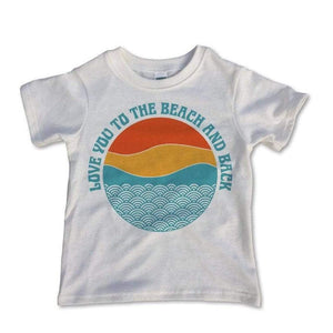 Rivet Apparel Co. - Love You to The Beach and Back Unisex T-shirt Short Sleeve Shirts Rivet Apparel Co.