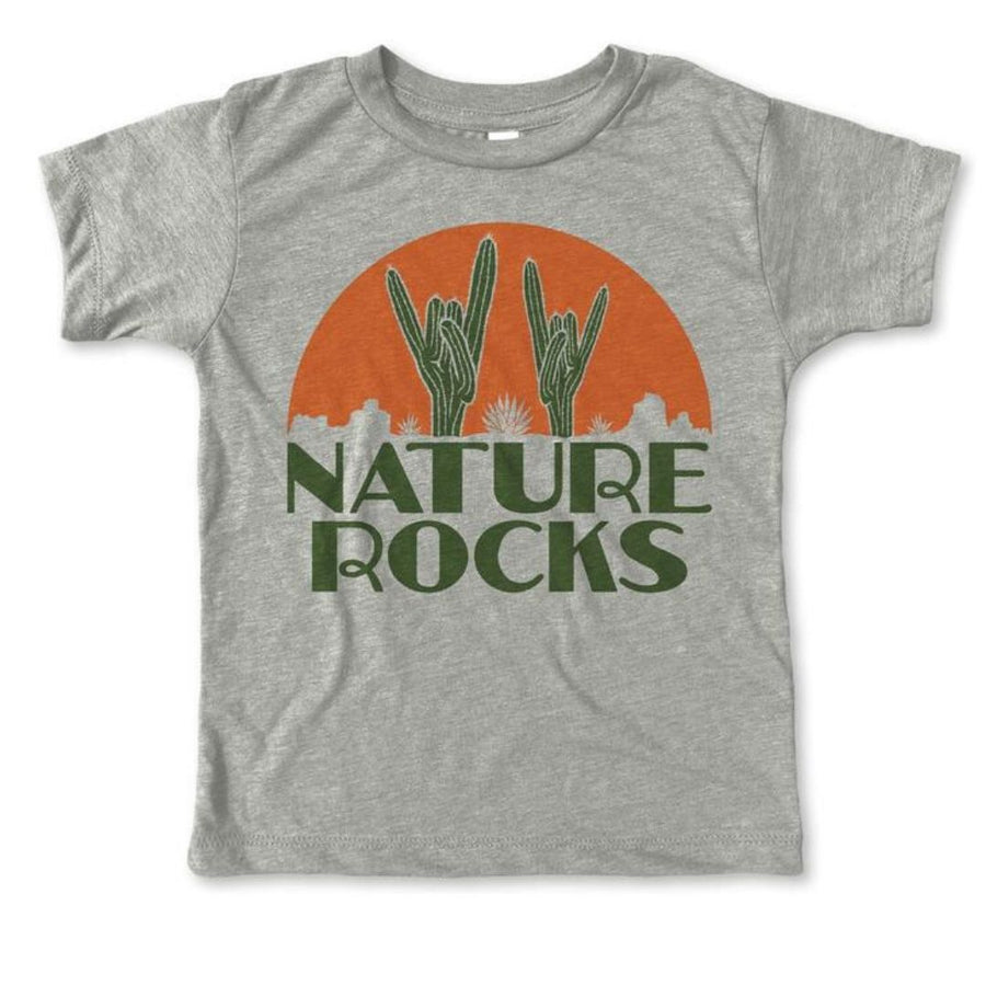 Rivet Apparel Co. - Nature Rocks Unisex T-shirt Short Sleeve Shirts Rivet Apparel Co.
