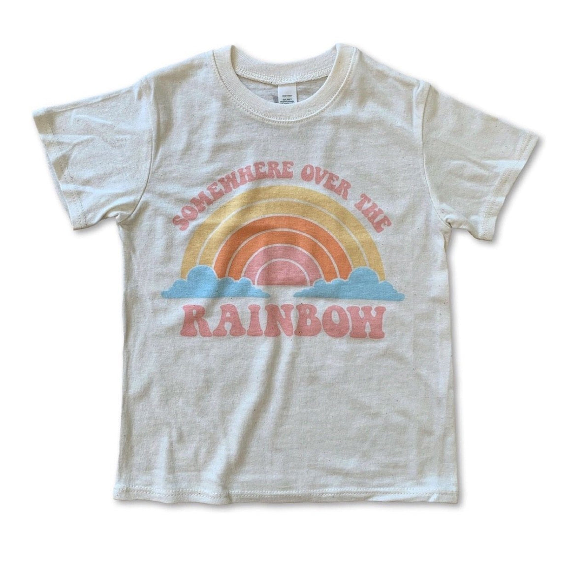 Rivet Apparel Co. - Over the Rainbow Unisex T-shirt Short Sleeve Shirts Rivet Apparel Co.