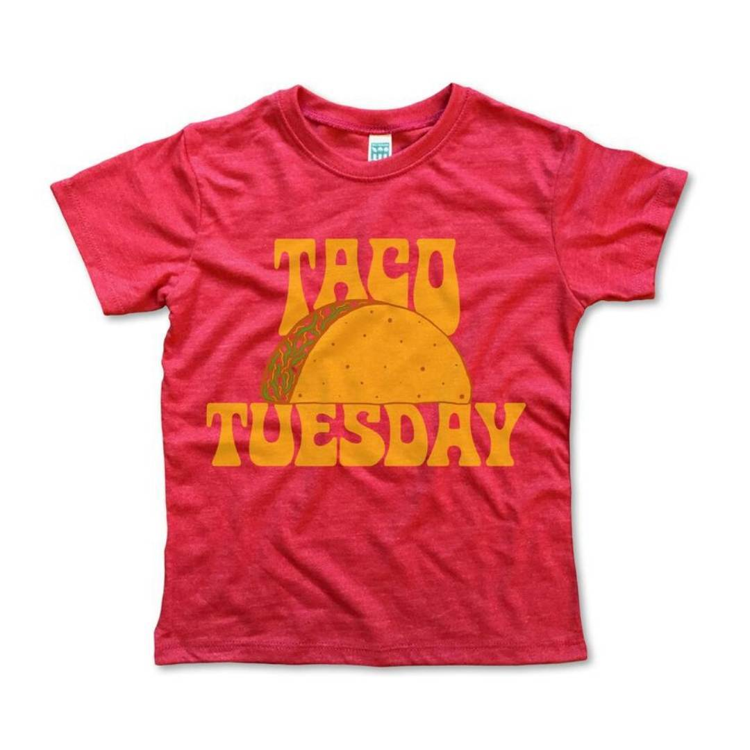 Rivet Apparel Co. - Taco Tuesday Unisex T-shirt Short Sleeve Shirts Rivet Apparel Co.