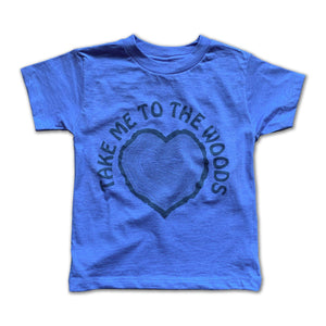 Rivet Apparel Co. - Take me to the woods Unisex T-shirt Short Sleeve Shirts Rivet Apparel Co.