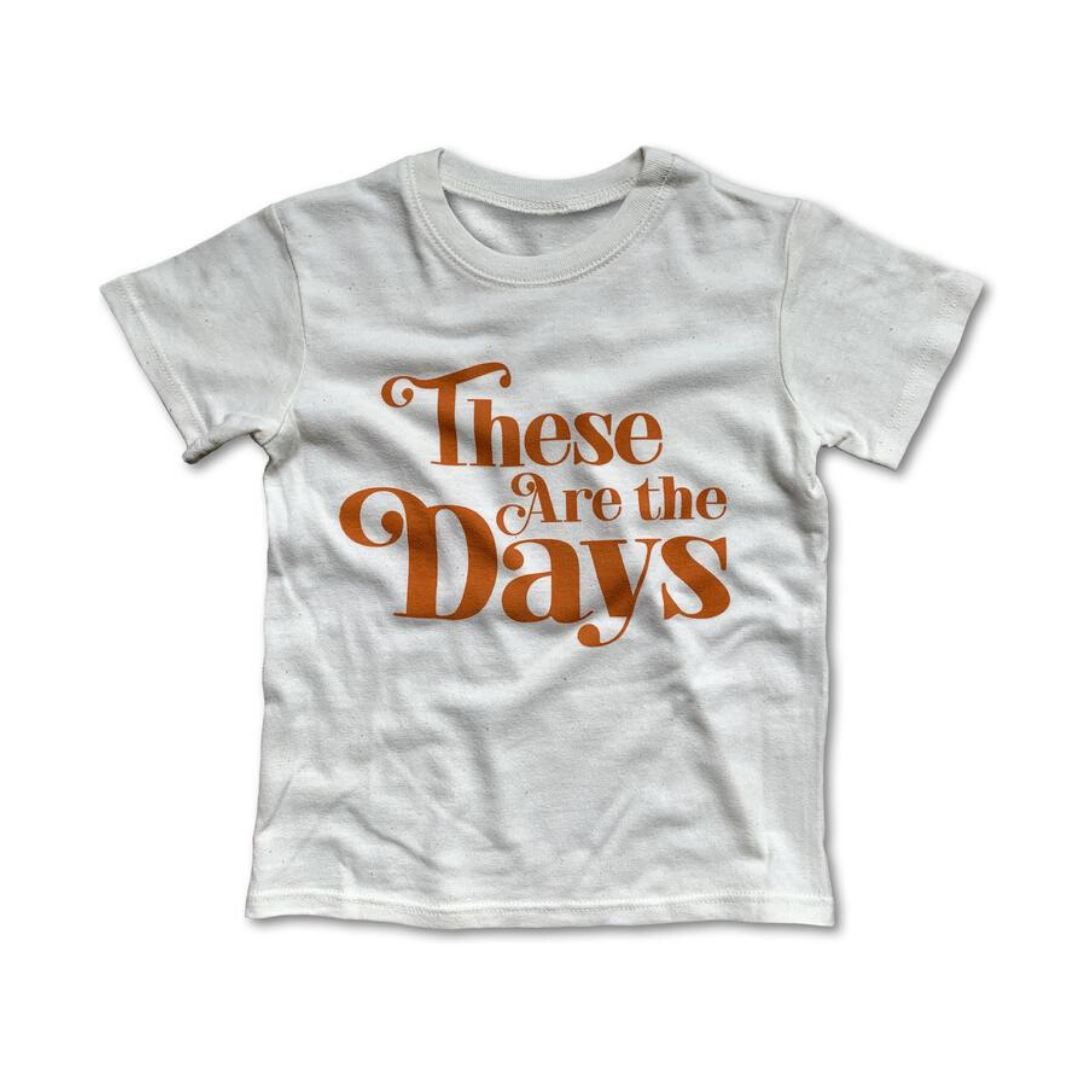 Rivet Apparel Co. - These Are The Days Unisex T-shirt Short Sleeve Shirts Rivet Apparel Co.