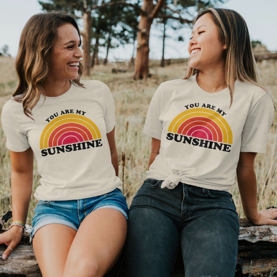 Rivet Apparel Co. - You are My Sunshine Adult Tee Short Sleeve Shirt Rivet Apparel Co.