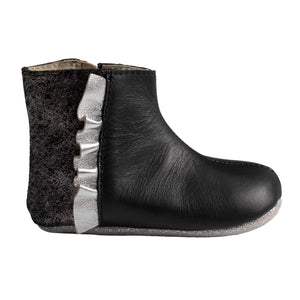 Robeez Black Madison Boot First Kicks footwear Robeez