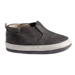 Robeez Grey Lenny Loafer Mini Shoez footwear Robeez
