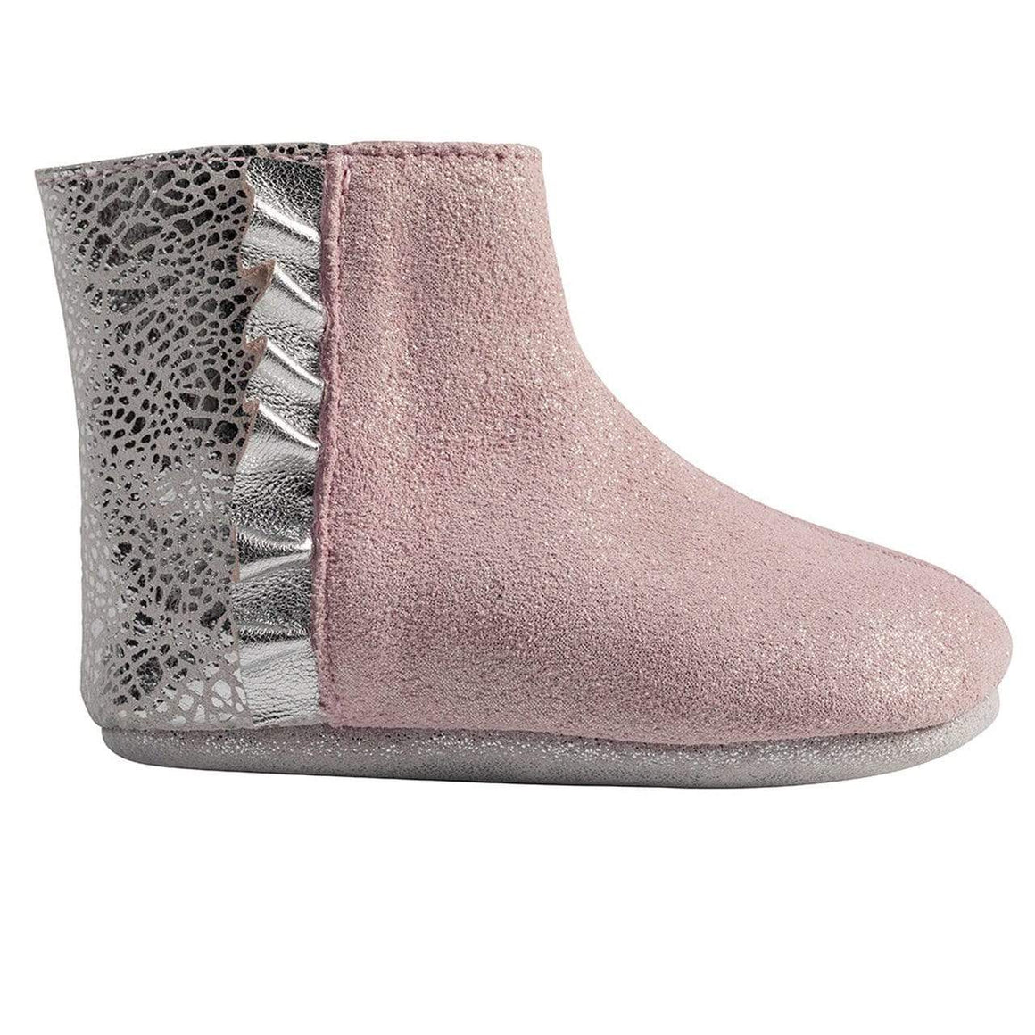 Robeez Pink Shimmer Madison Boot First Kicks footwear Robeez