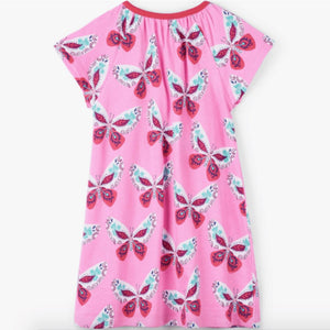 S19DBK1332 Hatley - Decorative Butterflies Tee Shirt Dress Dress Hatley