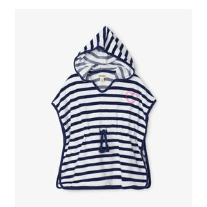 S20NSK1413 - Hatley Nautical Stripe Terry Cover-up Swimwear Hatley