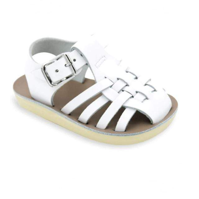 Sailor Salt Water Sandals - White Sandals Salt Water Sandals
