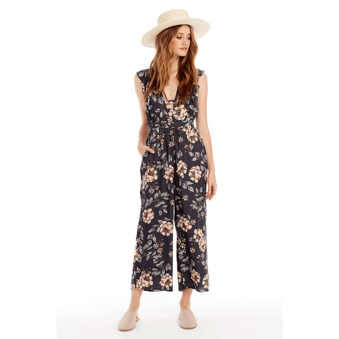 Saltwater LUXE - Women's Taylor Jumper - Garden Dream Jumpsuits / Rompers Saltwater LUXE XS Garden Dream