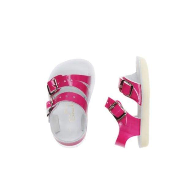 Sea Wees Salt Water Sandals - Shiny Fuschia Sandals Salt Water Sandals
