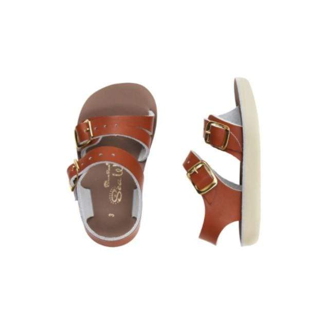 Sea Wees Salt Water Sandals - Tan Sandals Salt Water Sandals