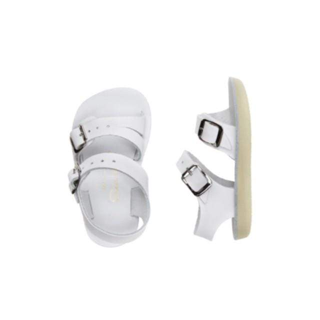 Sea Wees Salt Water Sandals - White Sandals Salt Water Sandals