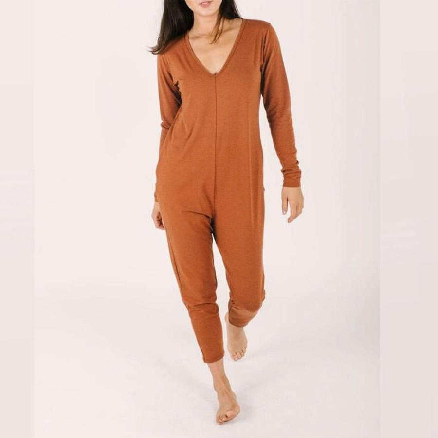 Smash + Tess- Friday Romper In Sassy Sienna Jumpsuits / Rompers Smash+Tess