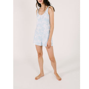 Smash + Tess - Sky Tie Dye Shorty Romper Jumpsuits / Rompers Smash+Tess