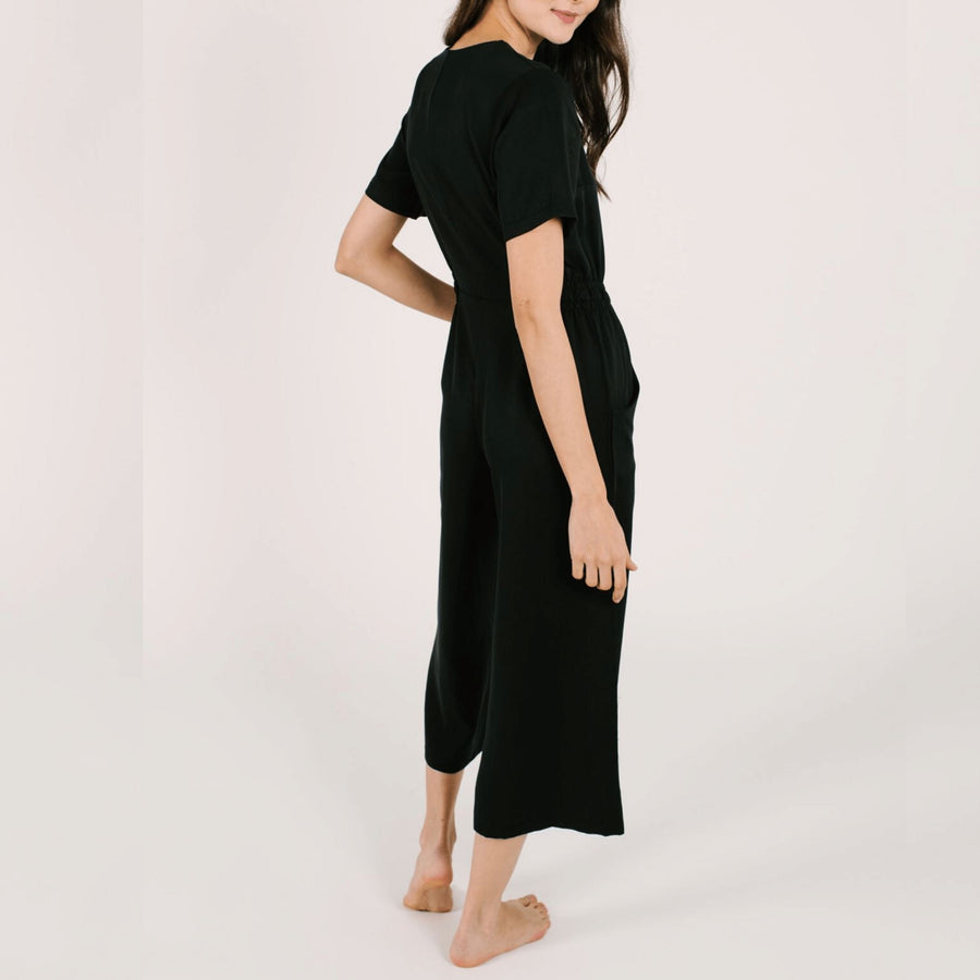 Smash + Tess - The Jane Romper in Barely Black Romper Smash+Tess